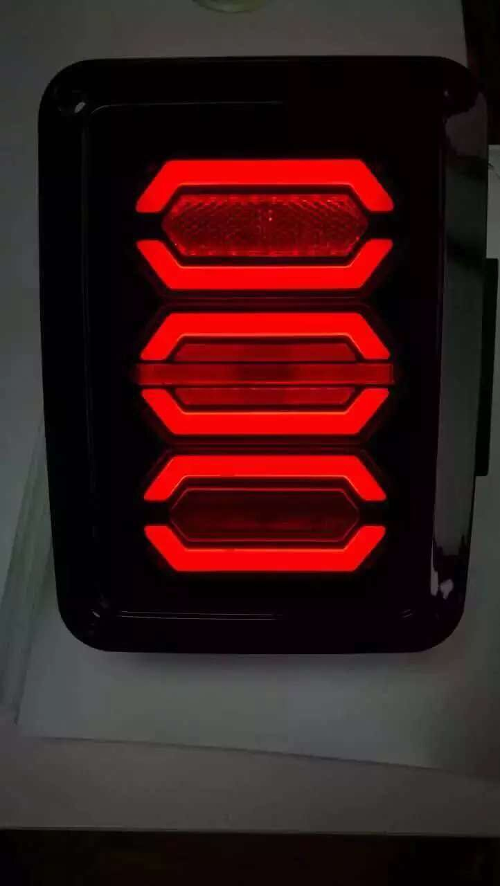 Jeep Wrangler Jk New Led Taillight Euro Edition For Light Kits